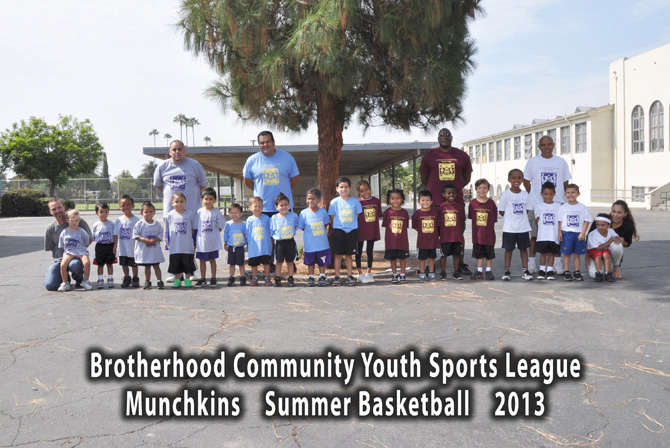 Munchkins 2013 Summer Basketball